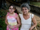 Cuba culture, cuisine, music, farm labor, mother and daughter