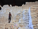 Rice Bags Distributed For Quake Relief