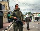 The town of Hebron under Israeli watch.
