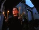 Vigil for peace in Gjakova, Kosovo